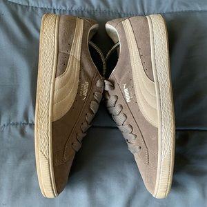 Puma Shoes - Puma Suese Classic Medium-Gray GUC